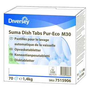 Suma Dish tabs Pur-Eco M30, opvasketabs m. salt, 70 stk. - 7515906