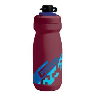Camelbak Podium Dirt - Drikkeflaske 620 ml - Burgundy/Blå - 100% BPA fri
