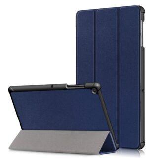 Samsung Galaxy Tab S5e - Tri-Fold smart læder cover - Mørkeblå