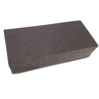 Sandpapir 70x155mm uden velcro - 50 stk/pakke Korn P120