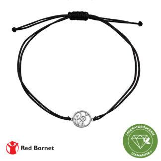 AAG Red Barnet, armbånd, sølv m/1 x 0,01 ct LG diamant TW/ SI2 1601-KV-RB-S