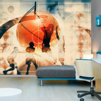 ARTGEIST Fototapet - I love basketball! 150x105