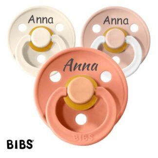 Bibs Colour, Sut 0-6 Mdr., Rund - Latex