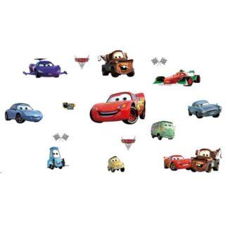 Biler wallsticker. 10 forskellige motiver fra Biler/Cars.