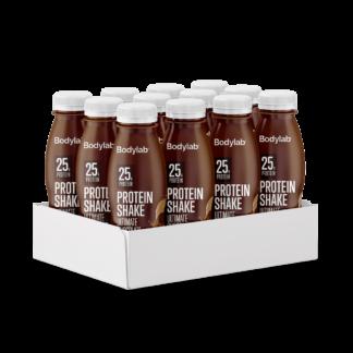 Bodylab Protein Shake (12 x 330 ml) - Ultimate Chocolate