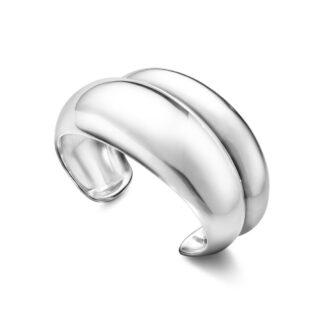 Georg Jensen Curve armring - 10017493 Sølv M