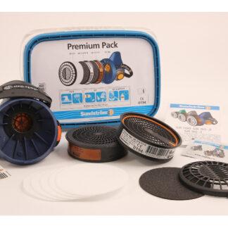 Halvmaske SR 100 premium pack inkl. P3 og A1 filter
