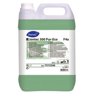 TASKI Jontec 300 Pur-Eco, Miljømærket gulvsæbe uden pleje, 5 liter