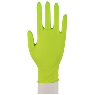 XS: Abena, Engangshandsker Sensitive, Nitril, Grøn, 100 stk