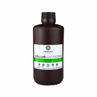 PrimaCreator Value Water Washable UV Resin - 1000 ml - Transparent Green