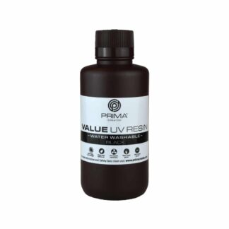 PrimaCreator Value Water Washable UV Resin - 500 ml - Black