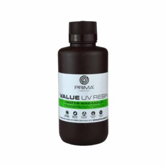 PrimaCreator Value Water Washable UV Resin - 500 ml - Transparent Green