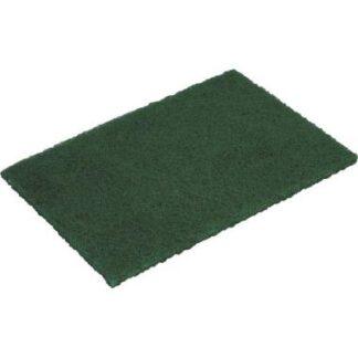 Vileda Skurenylon, grøn, 16x21 cm, 10 stk.