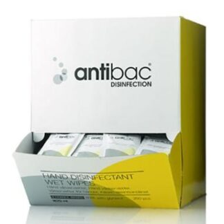 Antibac Hånddesinfektionsservietter 85%, 250 stk.