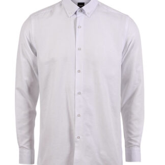 CARNÈT Ermaherre skjorte i slim fit White 2XL