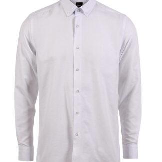 CARNÈT Ermaherre skjorte i slim fit White M