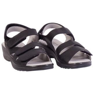 Dame sandaler m. velcro 36