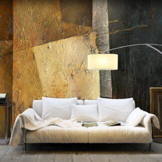 Fototapet - Modern Artistry - gul / 300x210