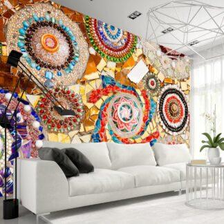 Fototapet - Moroccan Mosaic - colorful / 300x210