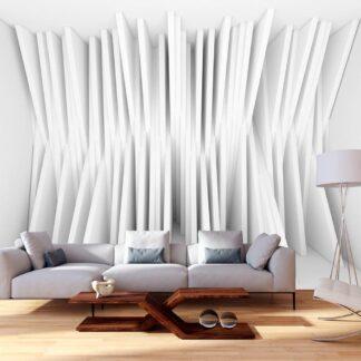 Fototapet - White Balance - grå / 300x210