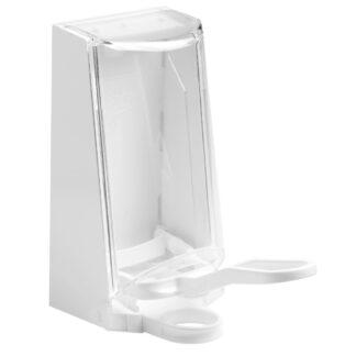 Sterisol dispenser hvid, m. plast arm, 700 ml.
