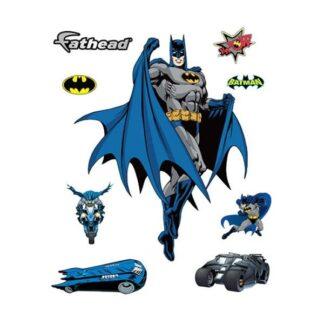 Batman wallsticker. 9 forskellige Batman motiver.