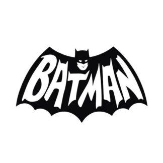 Batman wallsticker. Sejt Batman logo til væggen. 32x55cm