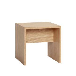 Bord, egetræ,FSC natur Grå