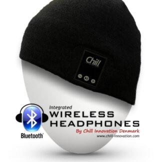 Chill trådløs Bluetooth høretelefon hue, Sort bomuld