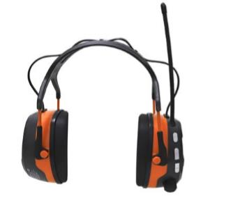 HøreværnmedFM/DAB radioogtrådløs forbindelse