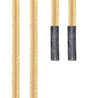 Ole Lynggaard Dobbelt design snor, gylden - A1907-311
