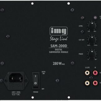 SAM-200D Digitalt forstærkermodul 280Wmax