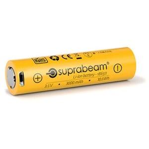 Suprabeam 18650 3000 mAh Genopladeligt Batteri