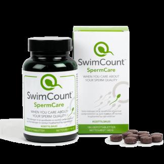 SwimCount SwimCare (180 tabletter/3 mdr.) Selen, Zink