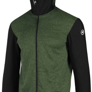 Assos TRAIL Spring Fall Hooded Jacket - Grøn/Sort