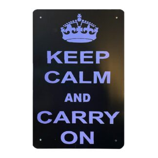 Metalskilt - Keep Calm