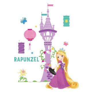 Rapunzel wallsticker. 50x70cm.