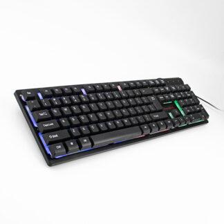 Gaming Tastatur med LED lys