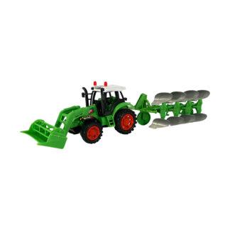 Traktor med trailer fra Farmworld