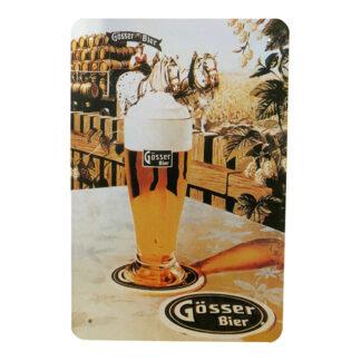 Metalskilt - Beer