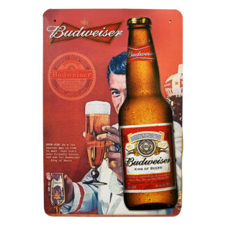 Metalskilt - Budweiser