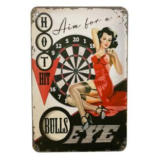 Metalskilt - Bulls Eye