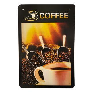Metalskilt - COFFEE