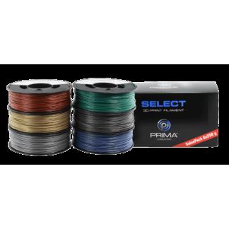PrimaSelect PLA - 1.75mm - 6 x 250 g - Metallic Pack