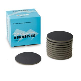 ø150mm Cool Abrasives Black vandslibningsrondeller - 15 stk. Korn P2000
