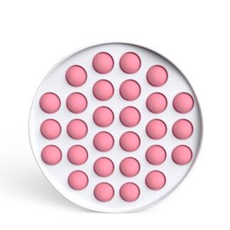 Fidget Toys - Pop It Bubbles - Hvid Cirkel (flere farver)