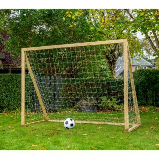 Homegoal - Classic Senior Natur - Fodboldmål i træ - 200x160 cm