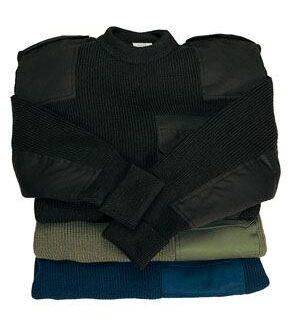 Miltec Sweater, Sort XXXXL