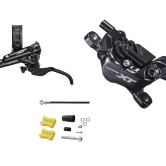Shimano XT M8120 - Hydraulisk bremsesæt - For/venstre - 4 piston