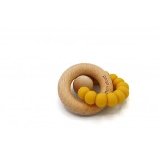 The Cotton Cloud, Round Teether, Mustard